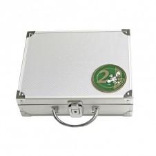 Valigetta in alluminio per 210 monete 2 Euro