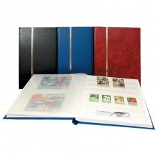 Classificatore nel formato libro 16 facciate bianche - Copertina vinaccia