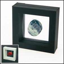 Cornice sospeso 3D 100 x 100 mm colore nero