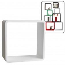 Cubo arredo bianco 26x26x20 cm