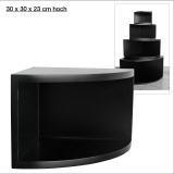 Eck-Board Syno nero 30x30x23 cm