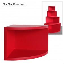 Eck-Board Syno rosso 30x30x23 cm