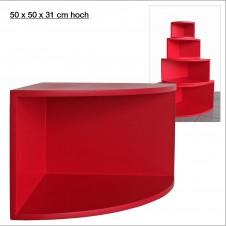 Eck-Board Syno rosso 50x50x31 cm