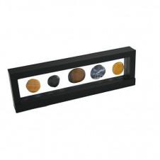 Cornice sospeso 3D 295 x 95 mm colore nero
