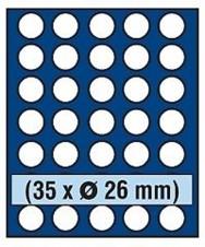 VASSOIO PER 35 MONETE 2 EURO - Caselle rotonde