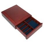 Cassetto in massello per astucci per moneta