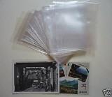 100 Tasche di protezione per nuove cartoline