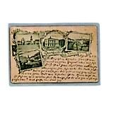 Buste trasparenti per cartoline postali con lato lungo aperto