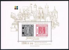 BRIEFMARKENBLOCK FOGLIETTO IBRA - 1999 nuovo**