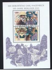 BRIEFMARKENBLOCK FOGLIETTO CARL HAGENBECK - 1994 timbrato