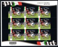 KLEINBOGEN MINIFOGLIO JUVENTUS CAMPIONE D'ITALIA - 2013 nuovo**
