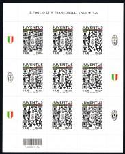 KLEINBOGEN MINIFOGLIO JUVENTUS CAMPIONE D'ITALIA - 2015 nuovo**