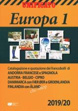 CATALOGO UNIFICATO EUROPA VOLUME 1 2019/20 nuovo