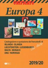 CATALOGO UNIFICATO EUROPA VOLUME 4 2019/20 nuovo