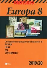 CATALOGO UNIFICATO EUROPA VOLUME 8 2019/20 nuovo