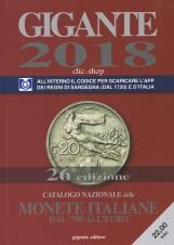 GIGANTE 2018 Monete Italiane