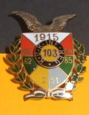 Kappenabzeichen 103