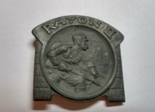 Kappenabzeichen Rayon II