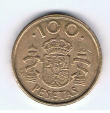 MÜNZEN MONETE SPAGNA ESPANA SPAIN SPANIEN MONETA 100 PESETAS 1992