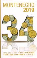 MONTENEGRO 1 CATALOGO MONETE ITALIANE 2019 34. EDIZIONE