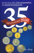 MONTENEGRO 1 CATALOGO MONETE ITALIANE 2020 35. EDIZIONE