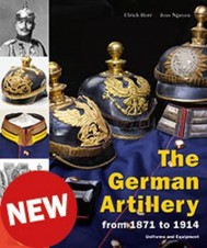 LIBRO BUCH THE GERMAN ARTILLERY FROM 1871 TO 1914