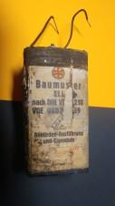 Batterie Batteria Baumuster ELL 1944  2 WELTKRIEG WW2 WK2