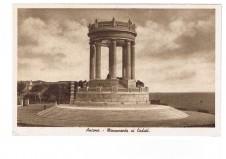 CARTOLINA ANCONA MONUMENTO AI CADUTI