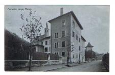 ANSICHTSKARTE MERAN MARIENBERGE MERANO ALTO ADIGE GELAUFEN 1912