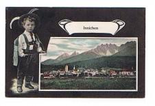 ANSICHTSKARTE INNICHEN SÜDTIROL ALTO ADIGE GELAUFEN 1906