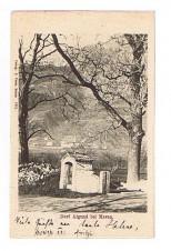ANSICHTSKARTE ALGUND DORF ALGUND BEI MERAN ALTO ADIGE SÜDTIROL GELAUFEN 1902