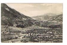 ANSICHTSKARTE ALGUND MIT DORF TIROL BEI MERAN ALTO ADIGE SÜDTIROL GELAUFEN 1909