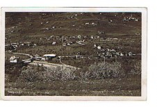 ANSICHTSKARTE ALGUND LAGUNDO PESSO MERANO MERAN ALTO ADIGE SÜDTIROL GELAUFEN 1939