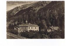 ANSICHTSKARTE BRENNER HOTEL PENSIONE TERME ALTO ADIGE SÜDTIROL GELAUFEN