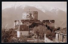 ANSICHTSKARTE ANNABERG SCHLANDERS SILANDRO VAL VENOSTA VINSCHGAU GELAUFEN 1909