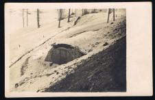 Ansichtskarte Cartolina 1 Weltkrieg Südtirol - Deckungen in Südtirol 1916