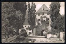 ANSICHTSKARTE GLURNS CITTA DI GLORENZA VINSCHGAU VAL VENOSTA SÜDTIROL ALTO ADIGE GELAUFEN 1941