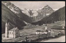 ANSICHTSKARTE TRAFOI STILFSERJOCH STRASSE STRADA STELVIO VINSCHGAU VENOSTA SÜDTIROL ALTO ADIGE GELAUFEN 1922