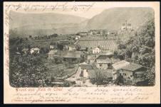 ANSICHTSKARTE NALS NALLES GRUSS AUS NALS SÜDTIROL ALTO ADIGE  GELAUFEN 1901
