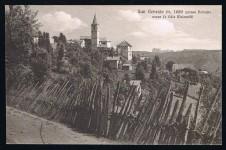 ANSICHTSKARTE JENESIEN SAN GENESIO SÜDTIROL ALTO ADIGE GELAUFEN 1947