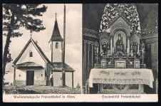 ANSICHTSKARTE AFERS WALLFARTSKAPELLE BRIXEN ALTO ADIGE SÜDTIROL GELAUFEN 1919