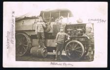 Ansichtskarte Cartolina Foto Mörserbatterie 30,5cm KuK WW1 WK1 1 Weltkrieg Prima guerra mondiale