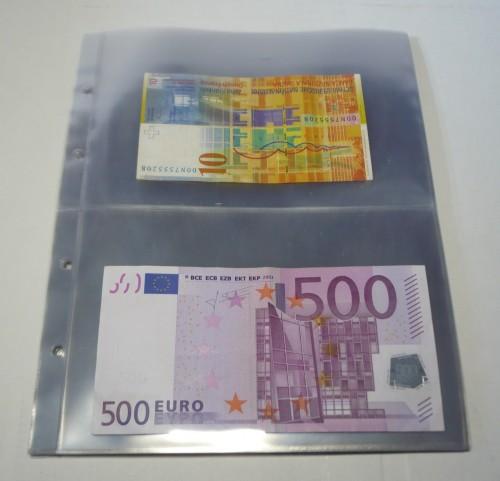 4d4a5094ea 10 fogli 9999-2 per l\\\\\\\'album 4125 - Banconote