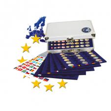 Valigetta in alluminio per 30 serie Euro