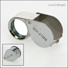 Lente di precisione in metallo ·30x