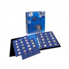 "Album ""TOPset"" per monete da 2€ BLU SCURO"