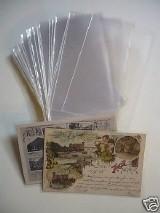 100 Tasche di protezione per vecchie cartoline