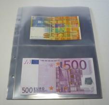 10 fogli  9999-2 per l'album 4125 - Banconote