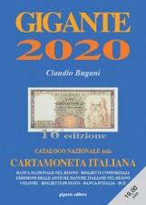 GIGANTE CATALOGO 2020 CARTAMONETA ITALIANA