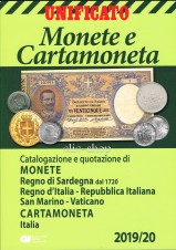 Unificato Monete e cartamoneta italiana 2019 - 20